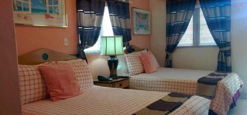 Guest beds in rooms