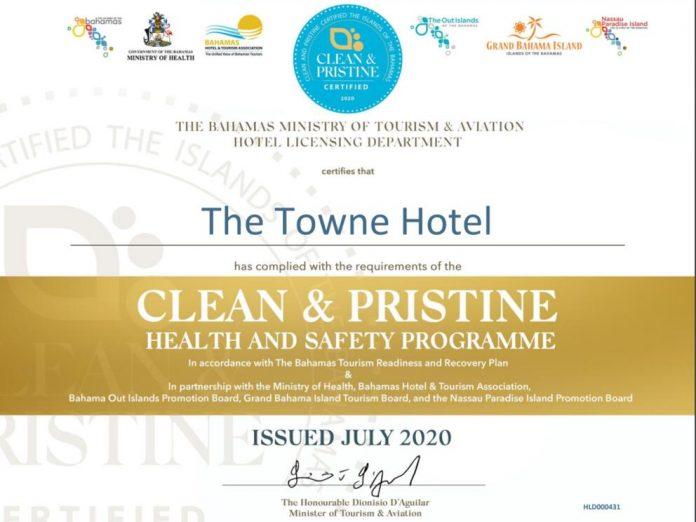 Towne Hotel Clean Pristine