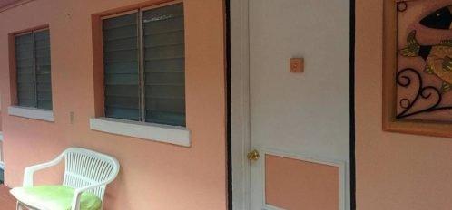 View of room door