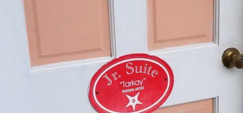 door to a junior suite